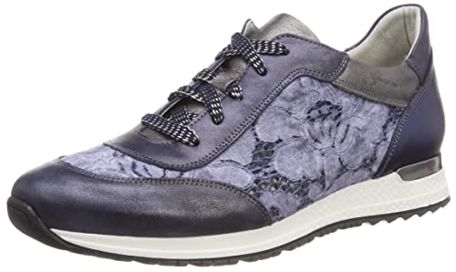 Marco Tozzi Premio 23704, Zapatos de Cordones Brogue para Mujer, Rosa (Rose Met. Comb), 41 EU