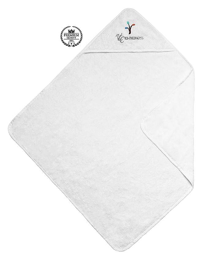 VLC Babies Capa - toalla de baño con capucha, 100% algodón. HECHO EN EUROPA.: Amazon.es: Bebé