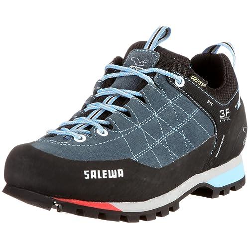 Salewa Ws Mtn Trainer Gtx, Zapatillas de Senderismo Mujer, Gris (Cinder-Grey/Celeste), 37: Amazon.es: Zapatos y complementos