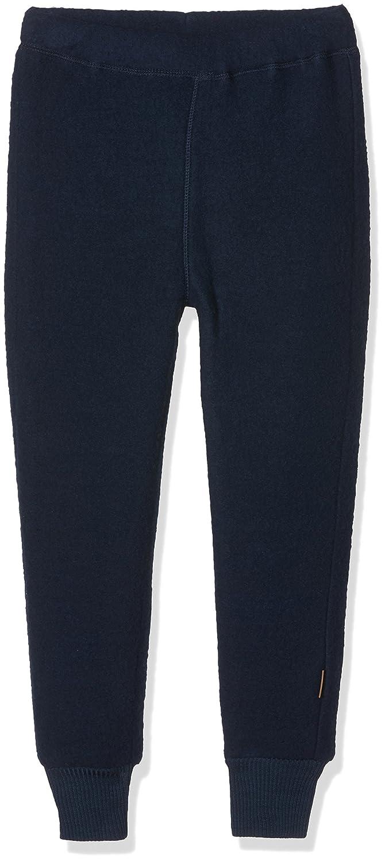 Beige Melange Offwhite 429 MikkLine Kinder WollHose Pantalones para ...