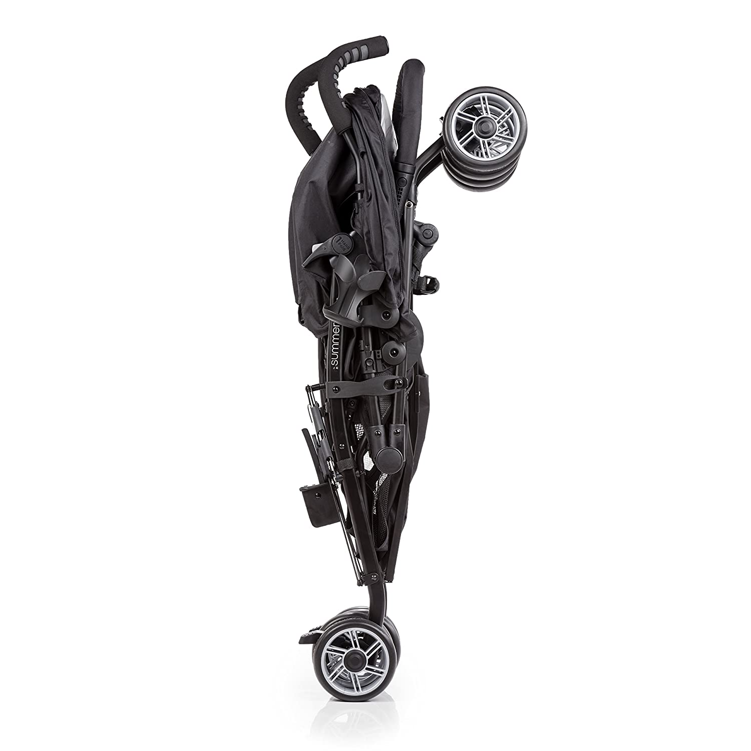Summer Infant 3D Two Double Convenience Stroller, Black 32183