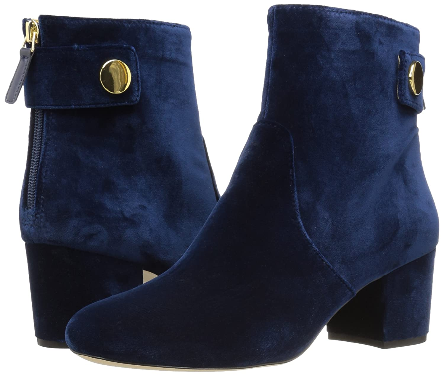 Nine West Womens Quarryn Fabric Ankle Boot