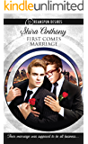 First Comes Marriage (Dreamspun Desires Book 2)