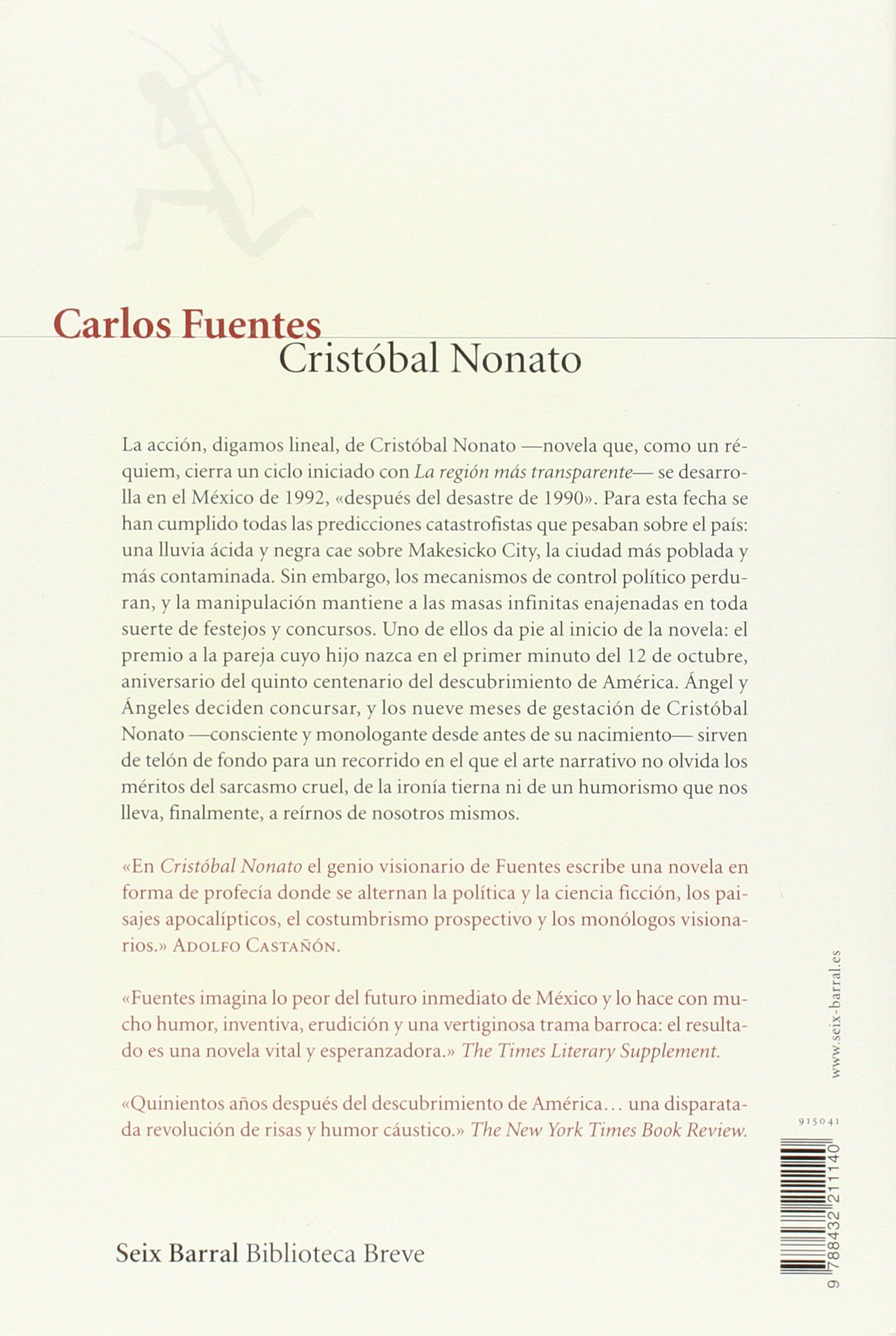 Cristobal Nonato (Biblioteca breve) (Spanish Edition): Carlos ...