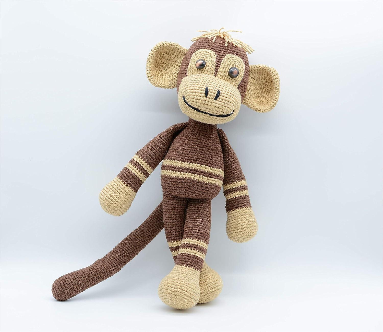 PATTERN: Martin the Monkey - Crochet monkey pattern - amigurumi ... | 1300x1500