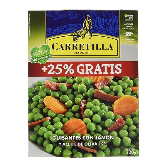 Carretilla - Guisantes con jamn - 300 g - [pack de 2]