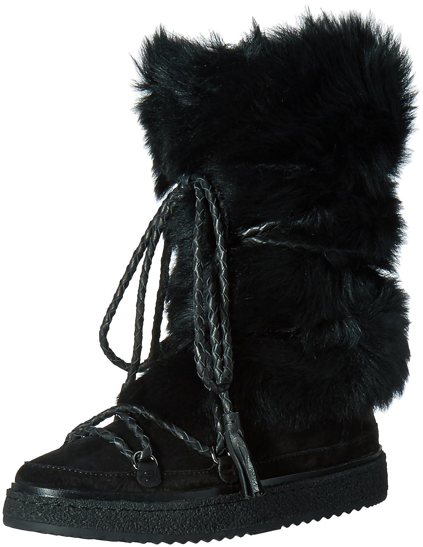 FRYE Women's Gail Shearling Tall Winter Boot B01BNUWMF6 9 B(M) US|Black