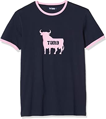 TORO TS117001 Camiseta, Azul (Marino), L para Hombre: Amazon.es: Ropa y accesorios