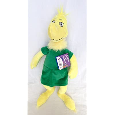 "Dr. Seuss ""Oh, The Thinks You Can Think"" Sneetch 19"" Plush: Toys & Games"