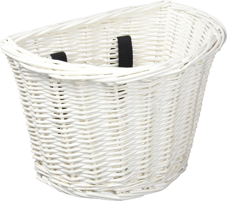 Electra - Cesta de mimbre para bicicleta de niño, color blanco ...