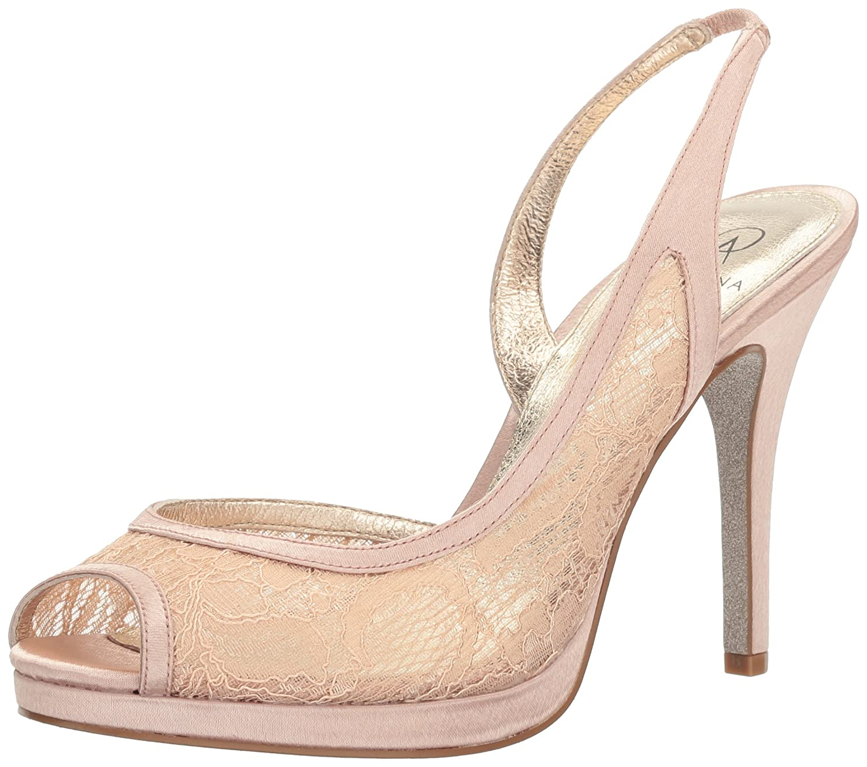 Adrianna Papell Women's Georgi-Lc Platform Dress Sandal B01MZ77X7E 7 B(M) US|Blush