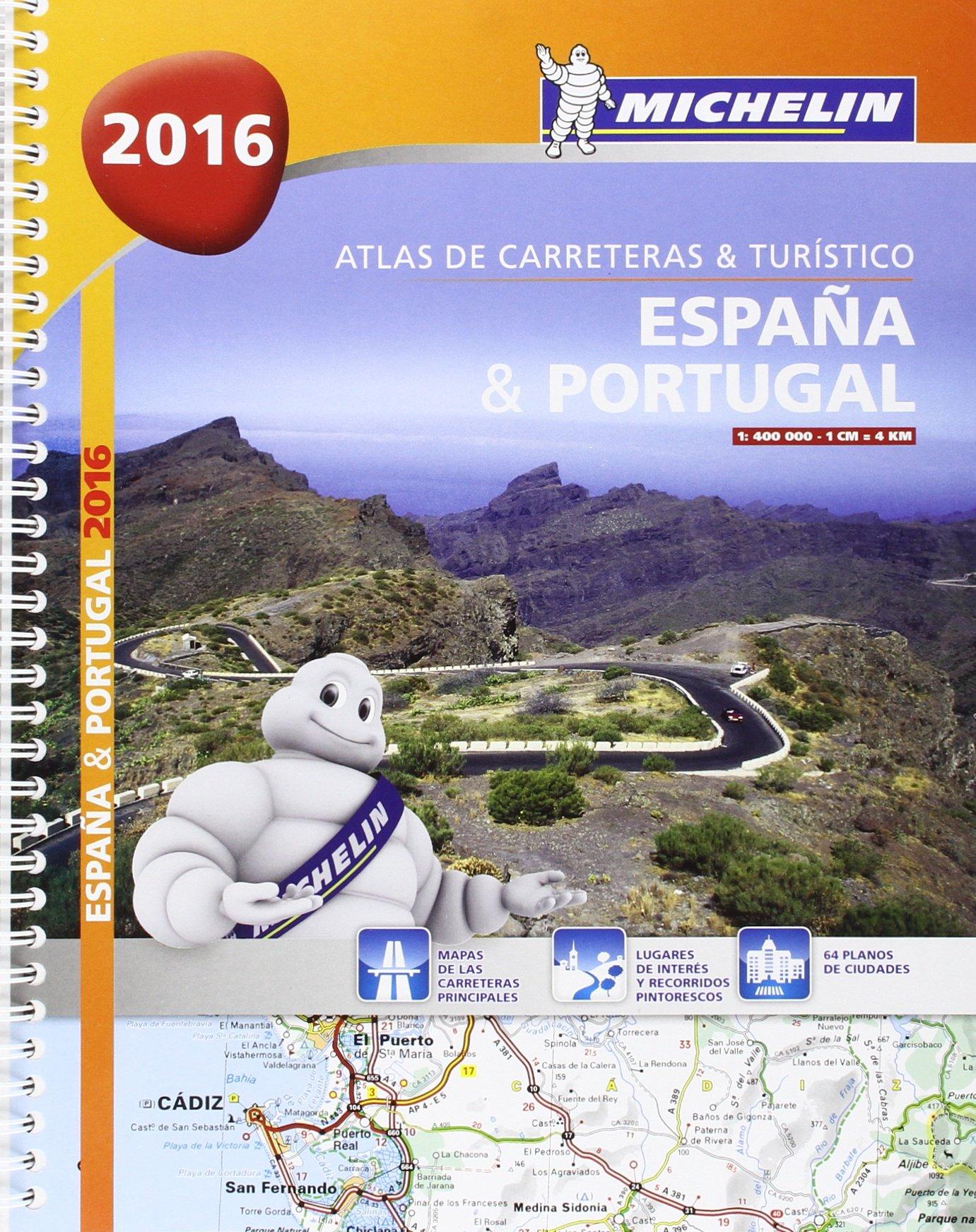 Atlas de carreteras y turístico España & Portugal formato A-4 ...