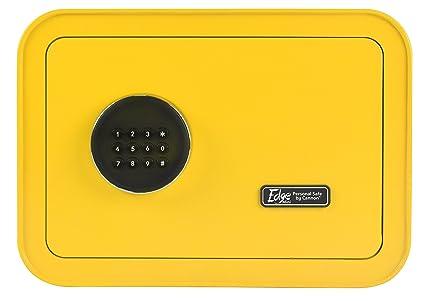 Cannon Safe E913-CSPA-17 The Edge Mini Personal Safe by Cannon Yellow