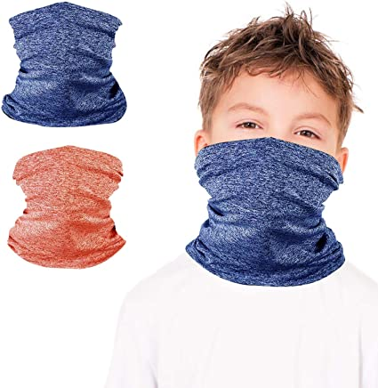 Outdoor Kids,Boy,Girl Head Face Snood NeckTube Neckerchief Mask Shawl Buff Scarf