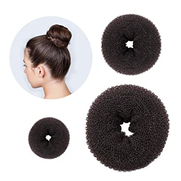 Amazon.com: 3 PCS Magic Hair Bun Maker French Twist Donut Former ...