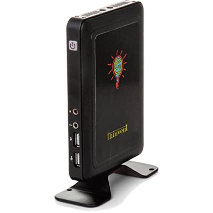 Thinvent Micro 1 2017 Thin Client (Cortex/0 512GB/4GB/Linux/Integrated  Graphics), Black