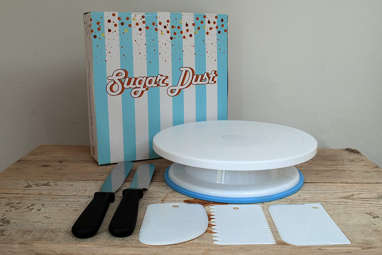Soporte para tartas, decoración de tocadiscos y glaseado de 2/3 ...