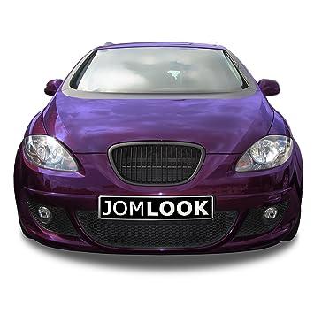 JOM 1P853653JOE Grille Jom Seat Leon 1P 05-09 no FL / Altea 5P 04-09 no FL, sin emblema: Amazon.es: Coche y moto