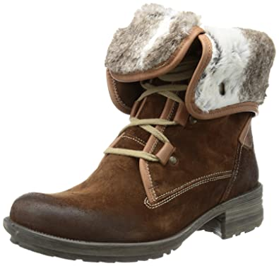 7746122e1bccf4 Josef Seibel Women s Sandra 04 Boots Brown Size  8  Amazon.co.uk ...