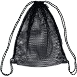 Chance Breathable Mesh Sports Gear Drawstring Backpack for Basketball, Volleyball, Football or Soccer
