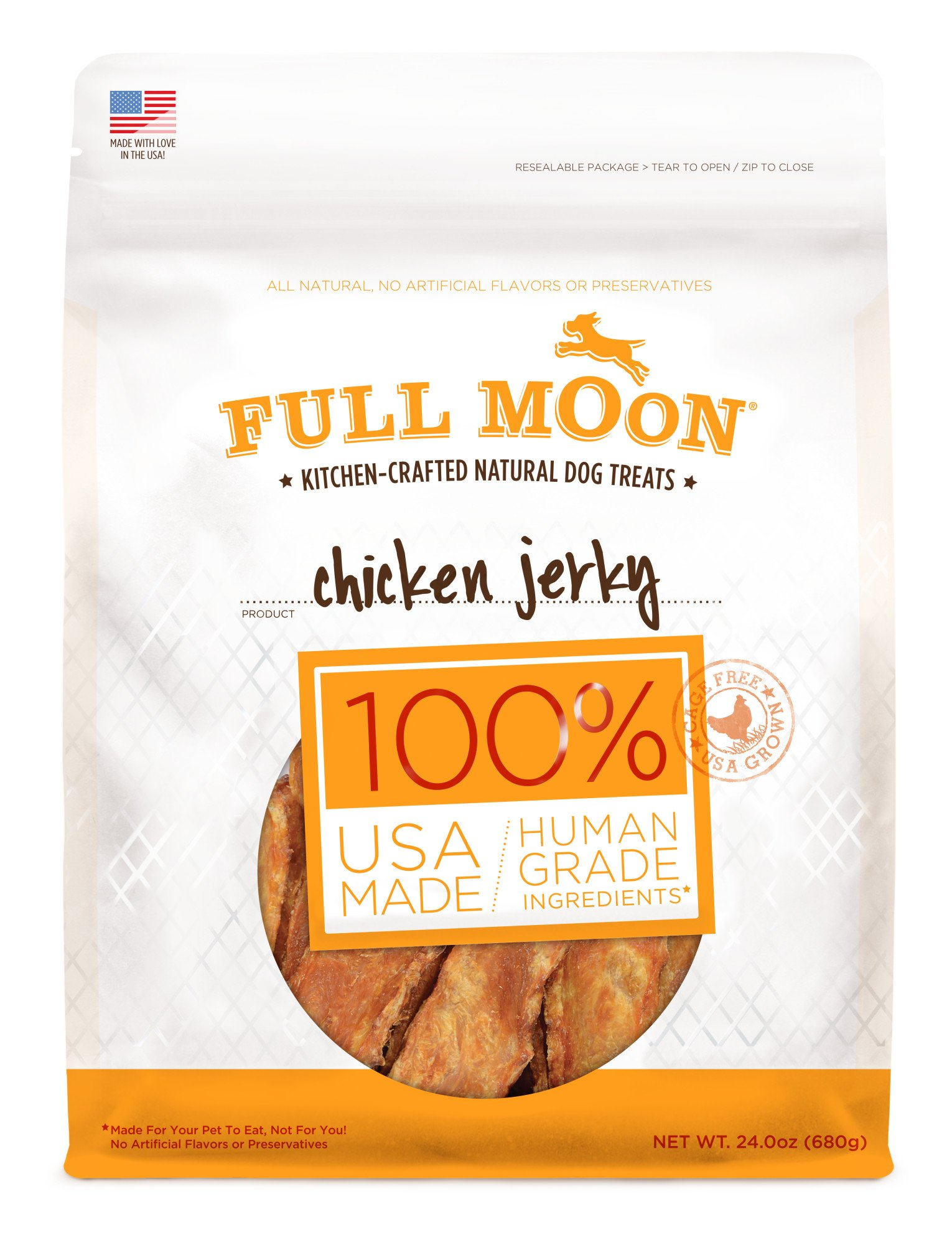 Full Moon Dog Treats Gluten Free