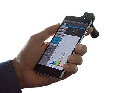GoSpectro - espectrómetro de luz base para smartphone: Amazon.es ...