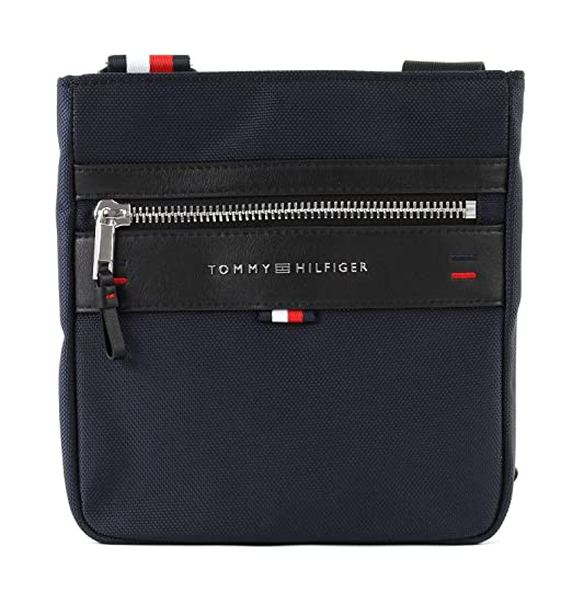e9a750ab5b Tommy Hilfiger Elevated Mini Crossover, Men's Shoulder Bag, Blue (Tommy  Navy), 2.5x22x28 cm (B x H T): Amazon.co.uk: Shoes & Bags