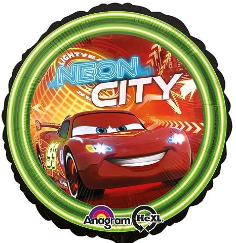 Globo * Cars Neon City * Para los niños de cumpleaños o ...