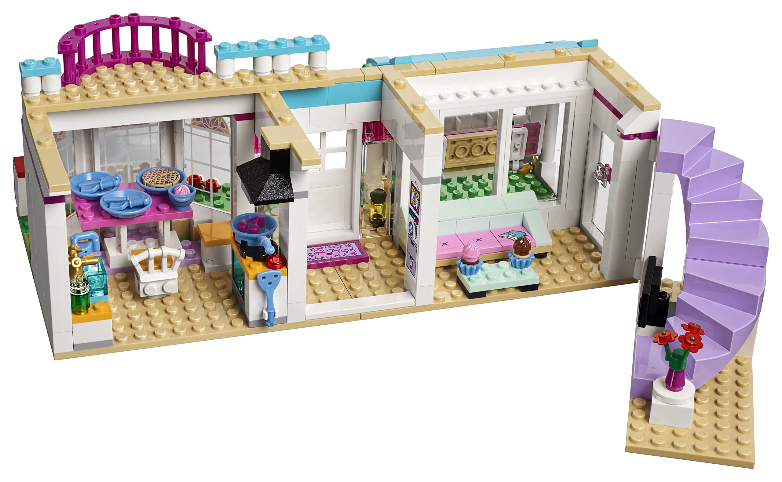 LEGO Friends Stephanies House Toy for 6 Year Olds