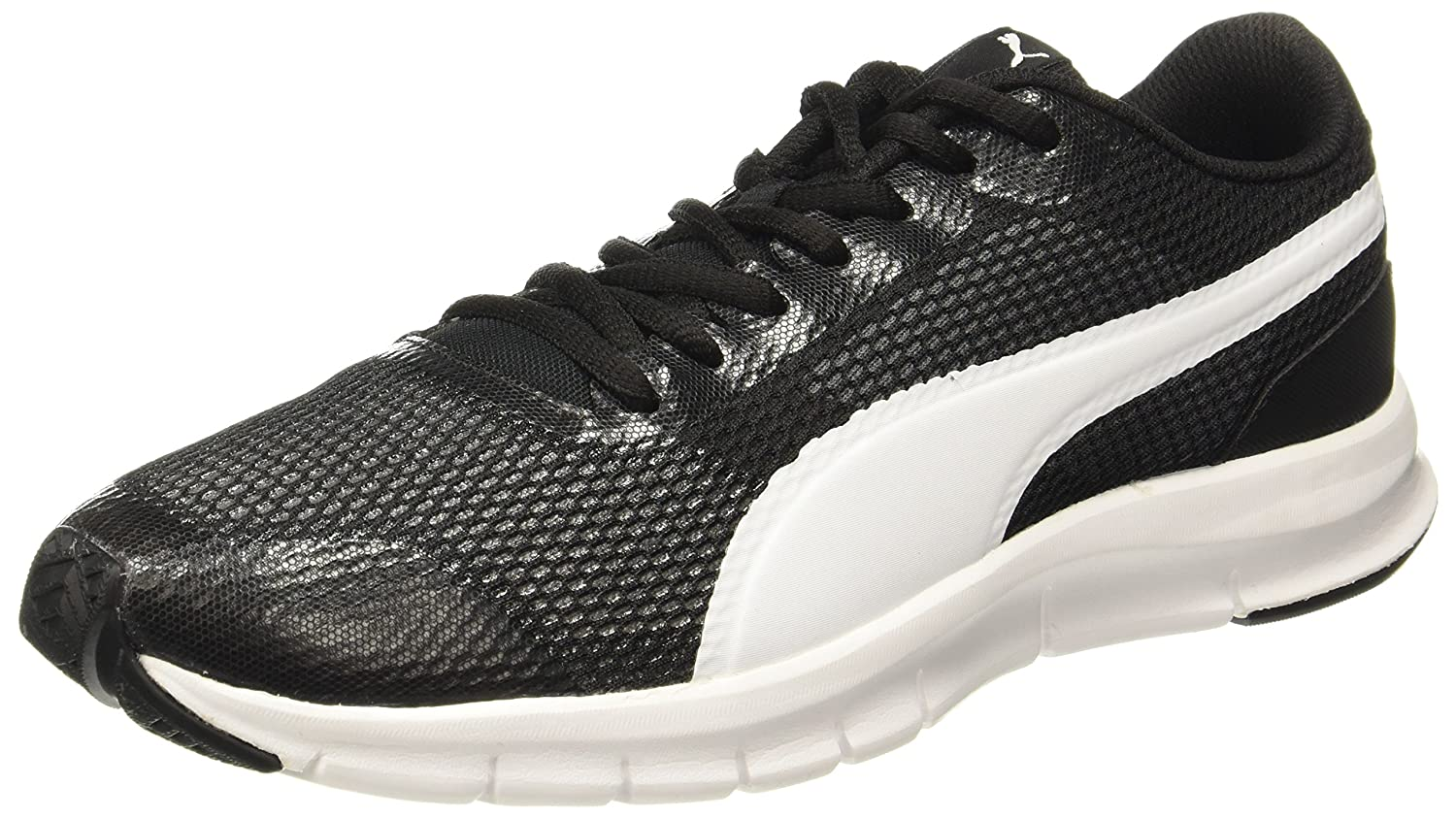 13ddfe57eda Puma Unisex Flexracer Pro Black-White Running Shoes  Buy Online at Low  Prices in India - Amazon.in