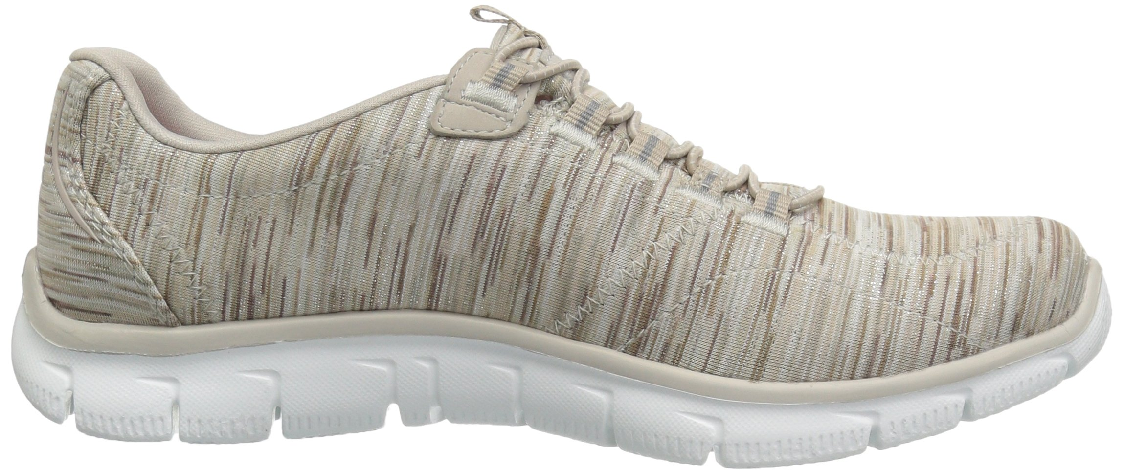 Skechers Women's Empire Game On Memory Foam Sneakers Shoes, Taupe, 6 B(M) US by Skechers (Image #7)