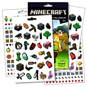 Minecraft Stickers ~ Over 295 Minecraft Fun Stickers