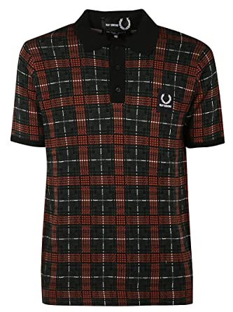 Fred Perry Luxury Fashion Hombre FPSK411027257 Rojo Polo ...