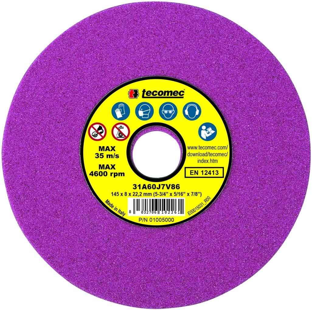 """Replacement 1//4"""" Vitrified Grinding Wheel for Oregon Bench Chain Grinder"""
