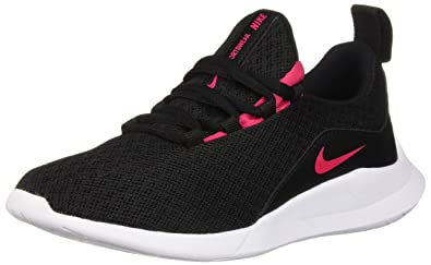 6953df5c54b5e NIKE Girls' Viale (ps) Competition Running Shoes, (Black/Rush Pink/White 001),  1 UK: Amazon.co.uk: Shoes & Bags