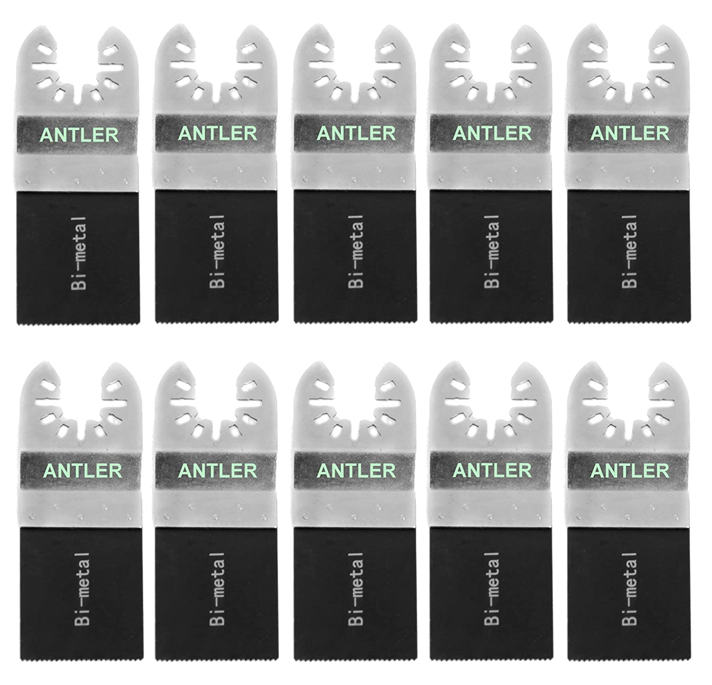 10x Antler 35mm Bi Metal Blades Dewalt Stanley Worx F30 Erbauer Black & Decker Oscillating Multitool QAB35BM