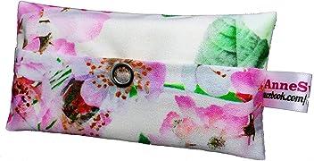 Taschentücher Tasche Rose Blume Design Adventskalender Befüllung Wichtelgeschenk Mitbringsel Give Away Mitarbeiter Weihnachten Abschied Geschenk