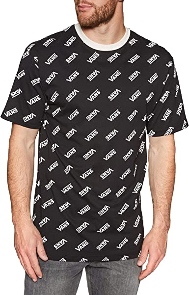 Vans Camiseta Manga Corta Retro Allover - Algodón: Amazon.es: Ropa y accesorios