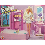 barbie bathroom games so much to do bedroom playset 1995 10078