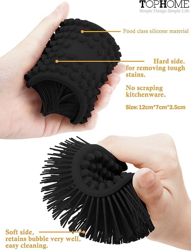 Brosse de nettoyage ZB Multi Brush 16 cm noir