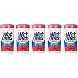 Wet Ones *湿纸巾 清香 40 片罐装 5-Canister 40 Wipes 200