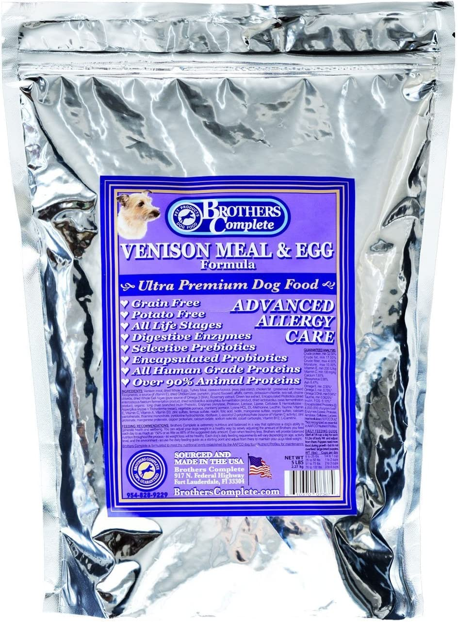 Brothers Complete Venison & Egg Advanced Allergy Care