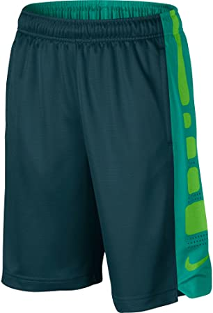 the best attitude 528fb e0ff5 Nike B Elite Stripe Short pour Enfant S Multicolore - TurquoiseBleu  Sarcelle (Midnight
