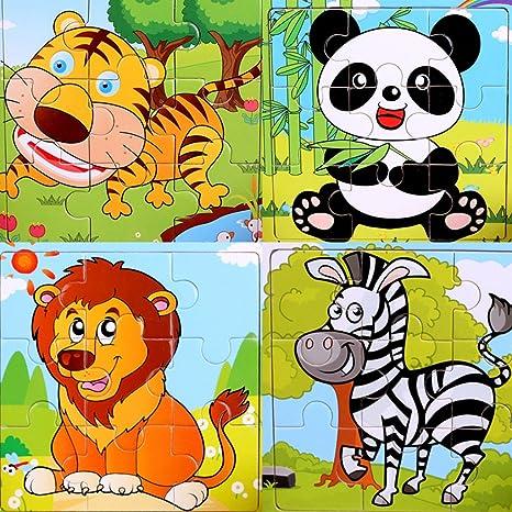 Sipliv Puzzle Di Legno 9 Pezzi Di Puzzle Per 2 5 Anni I Bambini Set