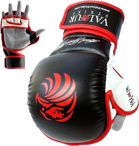 10oz ★ MMA Training Junior Child Punch Glove ★ Bag Muay Thai Mitts Beginner Taekwondo Mitts Martial Arts Kickboxing Punching Valour Strike Kids Boxing Gloves 4oz