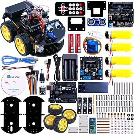 ELEGOO Smart Robot Car Kit V3.0 UNO Elektro Baukasten mit UNO R3 Line Tracking