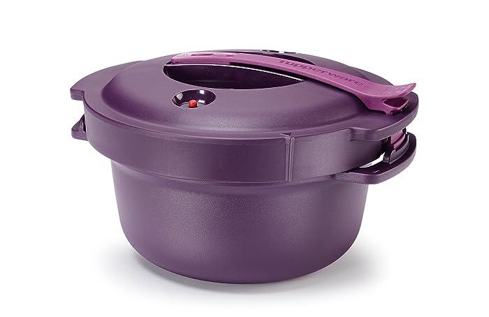 Tupperware Microwave Pressure Cooker 2 Qt. Purple New