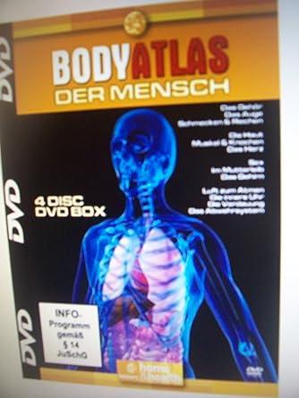 BODY - ATLAS 4DVD-SET --- DER MENSCHLICHE KÖRPER: Amazon.de: DVD ...