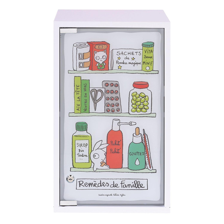 Armoire Pharmacie Rem Des Derri Re La Porte Amazon Fr Cuisine  # Meuble La Porte