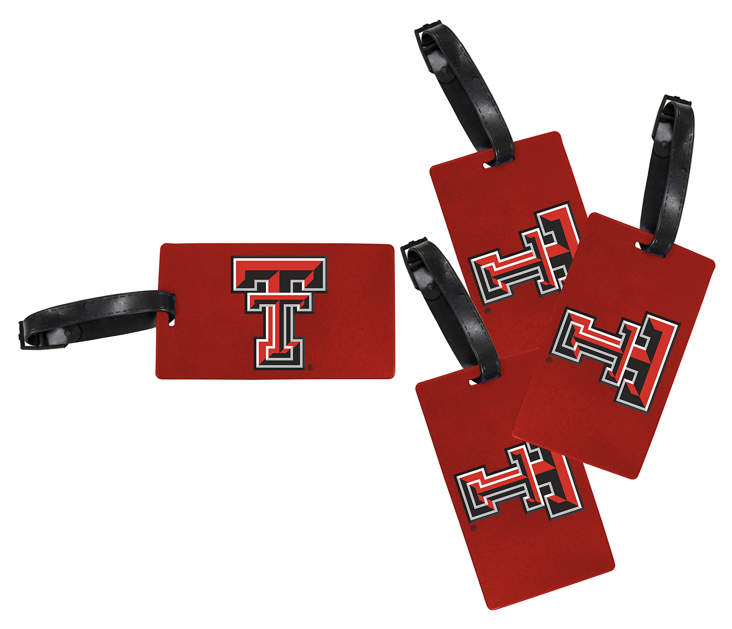 Texas Tech Red Raiders Luggage Tag 4-Pack by R and R Imports